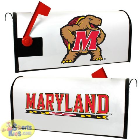 Maryland Terrapins Mailbox Cover