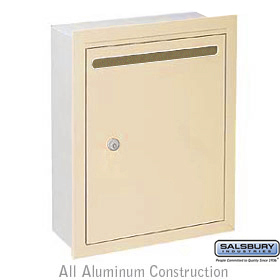 Letter Box Standard Recessed Mounted Sandstone Usps Access