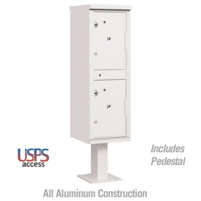 Outdoor Parcel Locker White