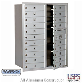 4C Horiz Mb 20 Mb1 Doors Double Column Aluminum Front Loading Us
