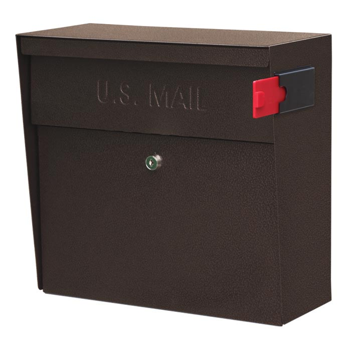 Mailboss Metro Wall Mount Mailbox Bronze